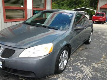 2008 Pontiac G6 for sale at SPRINGFIELD PRE-OWNED in Springfield IL