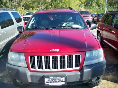 jeep grand cherokee for sale in springfield il. Black Bedroom Furniture Sets. Home Design Ideas