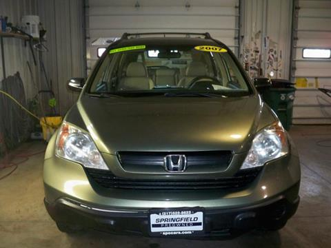 2007 Honda CR-V for sale at SPRINGFIELD PRE-OWNED in Springfield IL