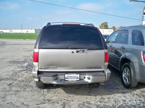 2002 Chevrolet Blazer for sale at SPRINGFIELD PRE-OWNED in Springfield IL