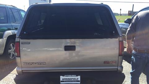 2002 GMC Sonoma for sale in Springfield, IL