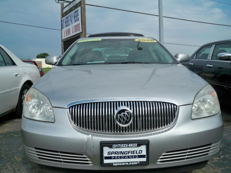Buick Lucerne CX Dr Sedan In Champaign IL Springfield Preowned - Buick springfield