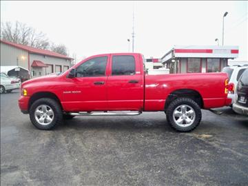 2002 Dodge Ram Pickup 1500 for sale at SPRINGFIELD PRE-OWNED in Springfield IL