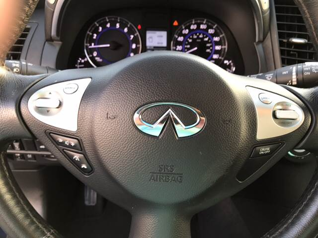 2016 Infiniti QX70 for sale at Lee's Auto Sales of Fayetteville INC in Eastover NC