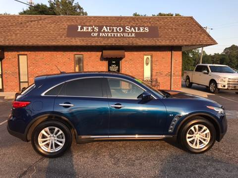 2016 Infiniti QX70 for sale in Eastover NC