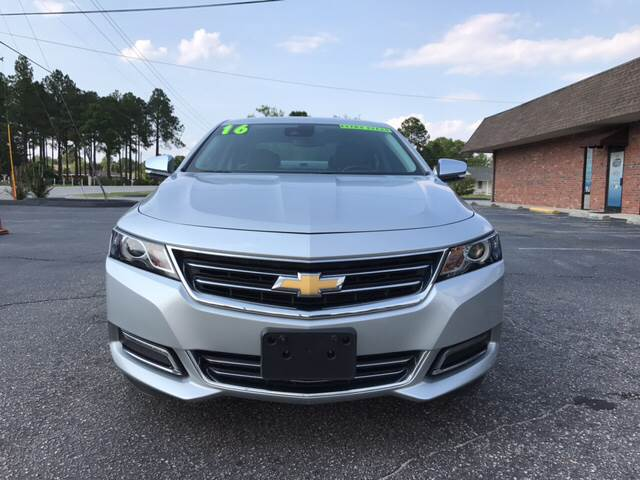 2016 Chevrolet Impala for sale at Lee's Auto Sales of Fayetteville INC in Eastover NC
