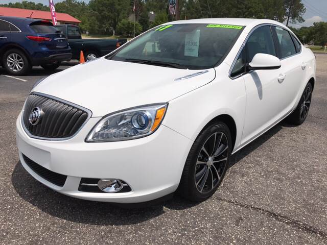 2017 Buick Verano for sale at Lee's Auto Sales of Fayetteville INC in Eastover NC