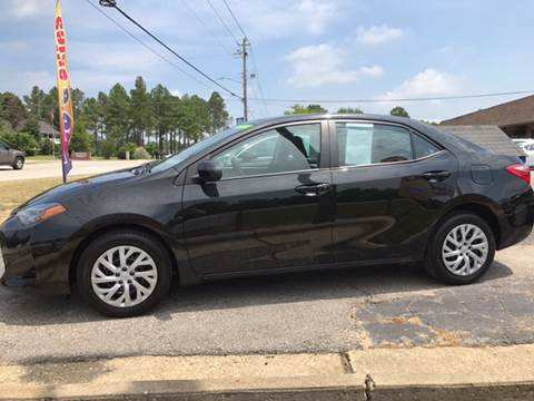 2017 Toyota Corolla for sale at Lee's Auto Sales of Fayetteville INC in Eastover NC