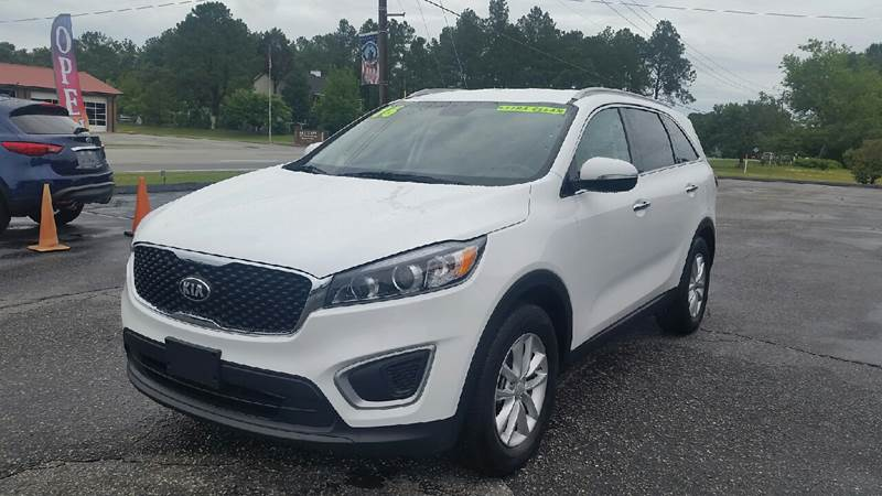 2016 Kia Sorento for sale at Lee's Auto Sales of Fayetteville INC in Eastover NC