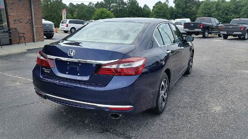2017 Honda Accord for sale at Lee's Auto Sales of Fayetteville INC in Eastover NC