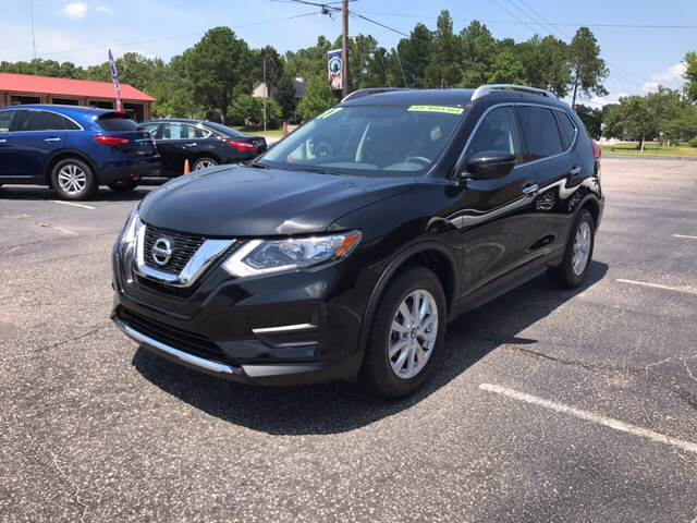 2017 Nissan Rogue for sale at Lee's Auto Sales of Fayetteville INC in Eastover NC