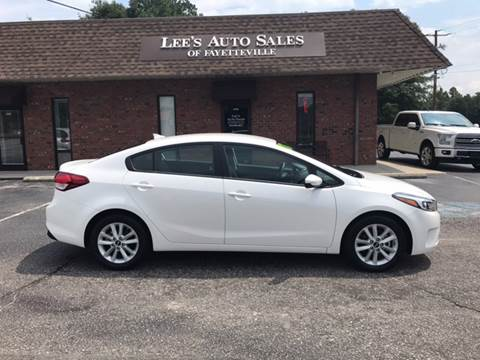 2017 Kia Forte for sale at Lee's Auto Sales of Fayetteville INC in Eastover NC