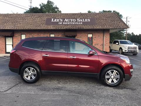 2017 Chevrolet Traverse for sale at Lee's Auto Sales of Fayetteville INC in Eastover NC