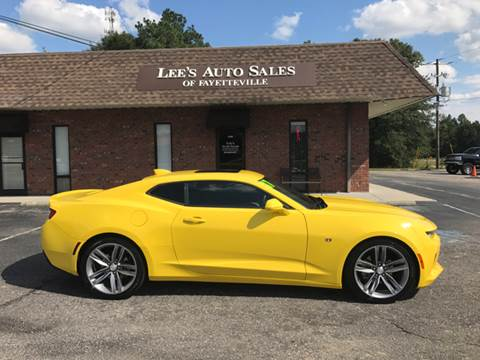 2017 Chevrolet Camaro for sale at Lee's Auto Sales of Fayetteville INC in Eastover NC