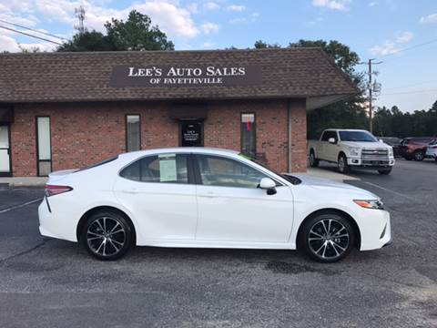 2018 Toyota Camry for sale at Lee's Auto Sales of Fayetteville INC in Eastover NC