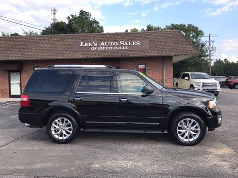 2017 Ford Expedition for sale at Lee's Auto Sales of Fayetteville INC in Eastover NC