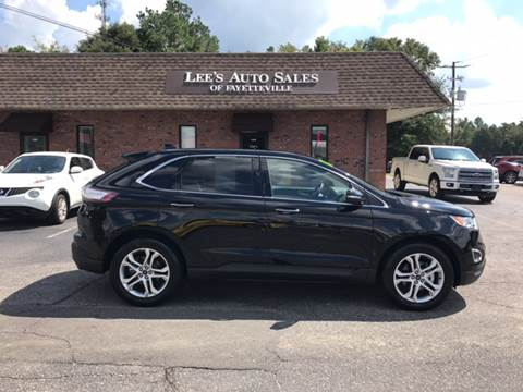 2017 Ford Edge for sale at Lee's Auto Sales of Fayetteville INC in Eastover NC