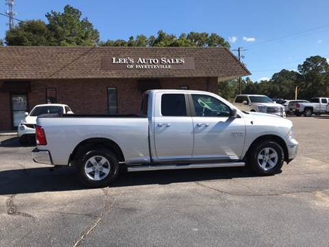 2017 RAM Ram Pickup 1500 for sale at Lee's Auto Sales of Fayetteville INC in Eastover NC