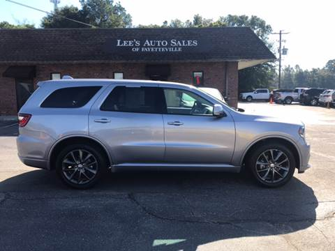 2017 Dodge Durango for sale at Lee's Auto Sales of Fayetteville INC in Eastover NC