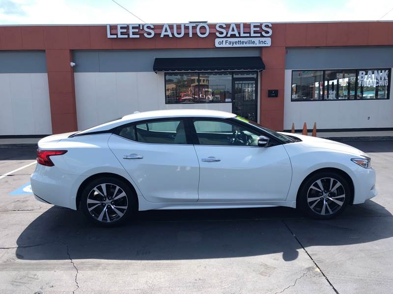 2017 Nissan Maxima For Sale At Leeu0027s Auto Sales Of Fayetteville INC In Fayetteville  NC