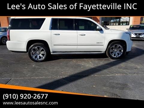 2015 GMC Yukon XL for sale in Fayetteville, NC
