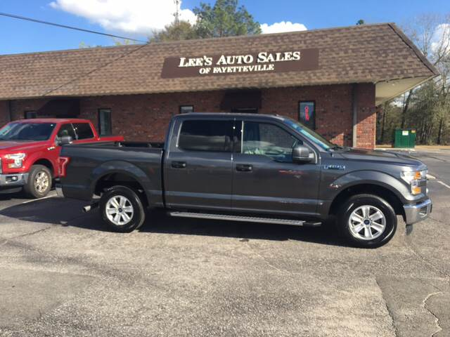 2017 Ford F-150 for sale at Lee's Auto Sales of Fayetteville INC in Eastover NC