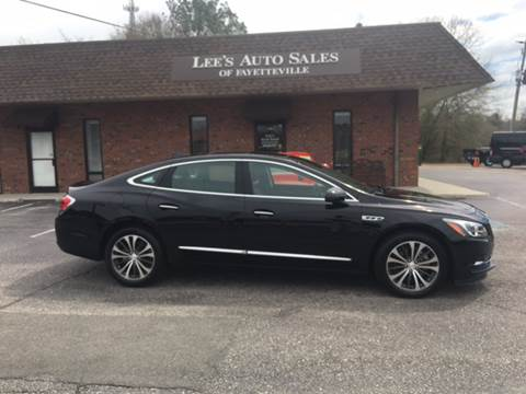 2017 Buick LaCrosse for sale in Eastover NC