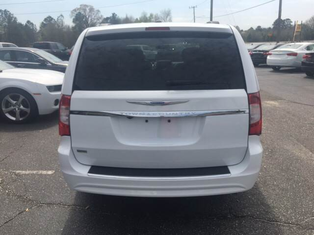 2016 Chrysler Town and Country for sale at Lee's Auto Sales of Fayetteville INC in Eastover NC
