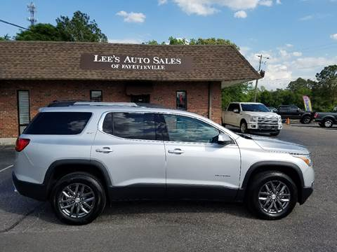 2017 GMC Acadia for sale at Lee's Auto Sales of Fayetteville INC in Eastover NC