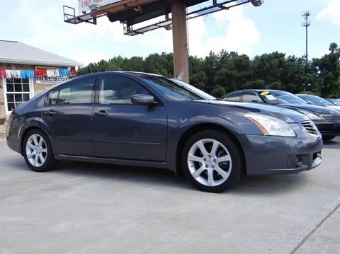 2007 Nissan Maxima for sale in Woodstock, GA