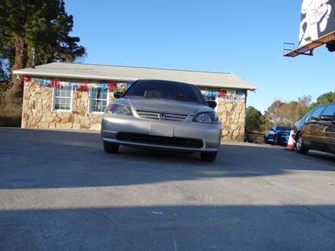 2001 Honda Civic for sale in Woodstock, GA