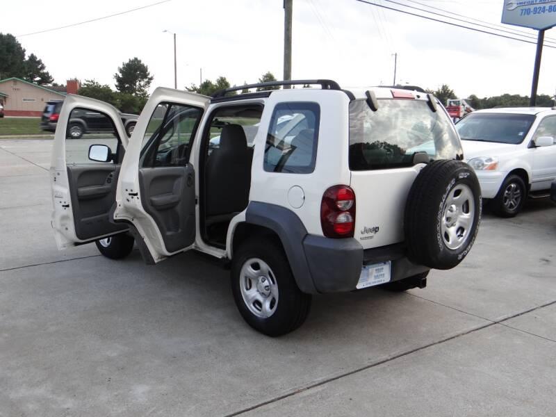 2005 Jeep Liberty Sport 4dr SUV - Woodstock GA