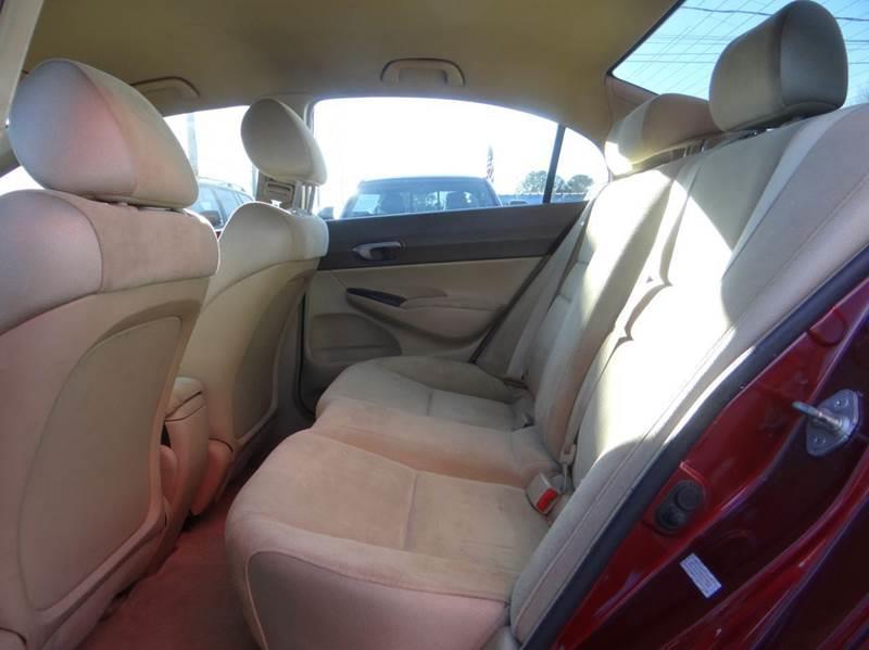 2008 Honda Civic LX 4dr Sedan 5A - Woodstock GA