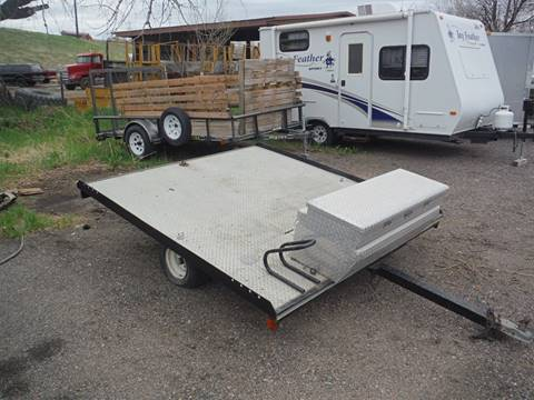 1988 YAC Snowmobile/Motorcycle Trailer