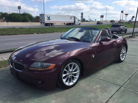 2003 BMW Z4 for sale at Sanders Auto Solutions in San Antonio TX