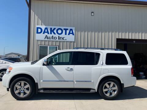 2010 Nissan Armada for sale at Dakota Auto Inc. in Dakota City NE