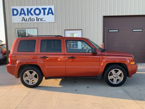 2008 Jeep Patriot for sale at Dakota Auto Inc. in Dakota City NE