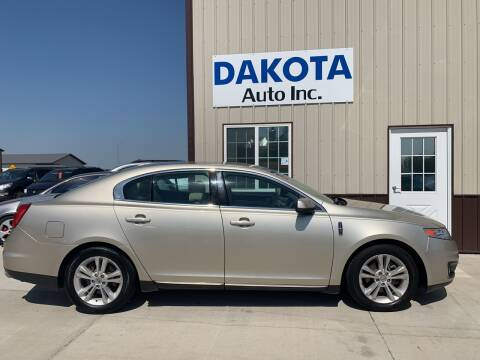 2010 Lincoln MKS for sale at Dakota Auto Inc. in Dakota City NE