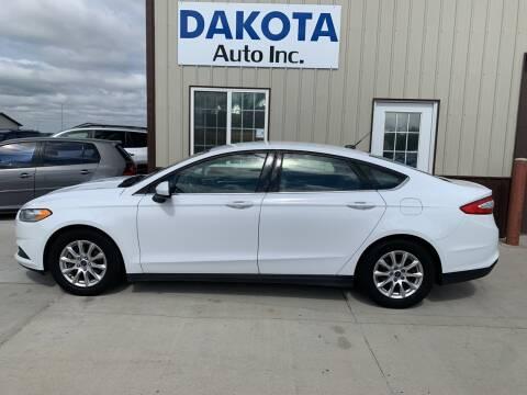 2016 Ford Fusion for sale at Dakota Auto Inc. in Dakota City NE