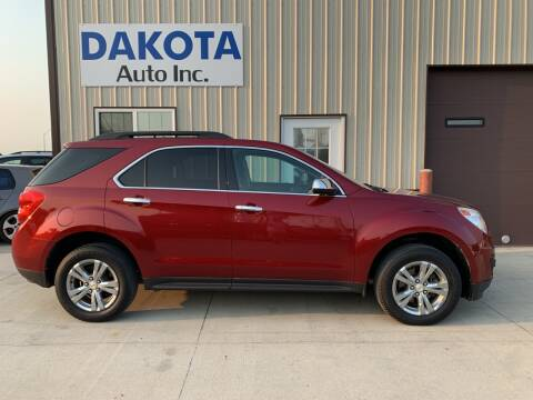 2010 Chevrolet Equinox for sale at Dakota Auto Inc. in Dakota City NE