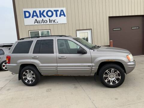 2002 Jeep Grand Cherokee for sale at Dakota Auto Inc. in Dakota City NE