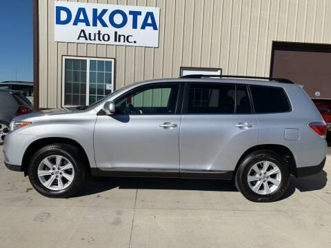 2012 Toyota Highlander for sale at Dakota Auto Inc. in Dakota City NE