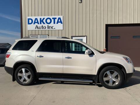 2010 GMC Acadia for sale at Dakota Auto Inc. in Dakota City NE