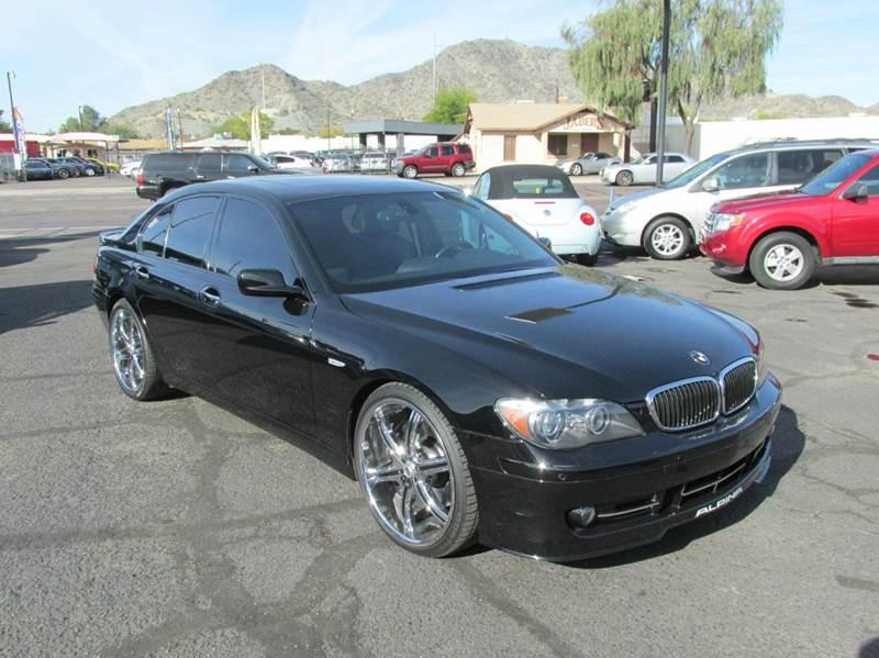 2008 Bmw 7 Series ALPINA B7 4dr Sedan In Phoenix AZ - Cool Motors LLC