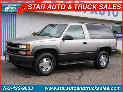 1998 Chevrolet Tahoe for sale in Ramsey, MN