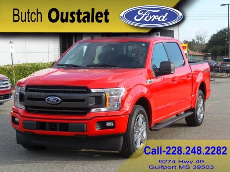Butch Oustalet Ford >> 2019 Ford F-150 XLT In Gulfport MS - BUTCH OUSTALET FORD ...