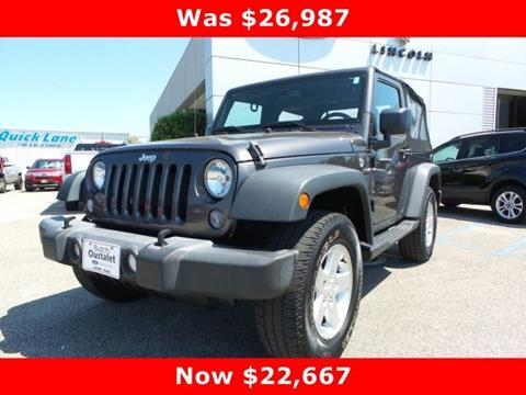 2016 Jeep Wrangler for sale in Gulfport, MS