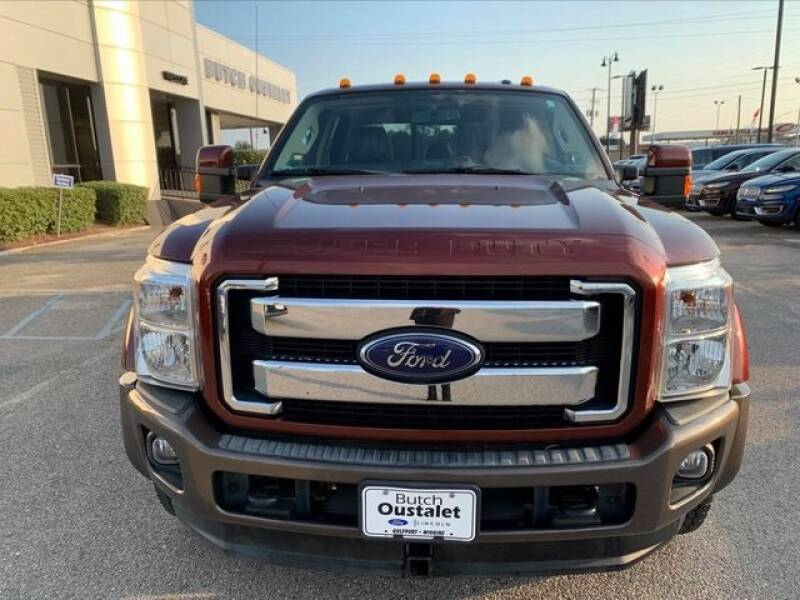 2016 Ford F-350 Super Duty 4x4 King Ranch 4dr Crew Cab 8 ft. LB DRW Pickup - Gulfport MS