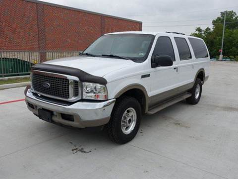 2001 Ford Excursion for sale at Universal Credit in Houston TX