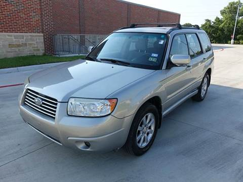 2007 Subaru Forester for sale at Universal Credit in Houston TX